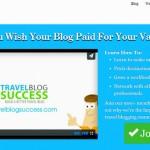 Travel Blog Success Screenprint