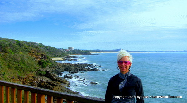 Lash at Point Arkwright - Coolum