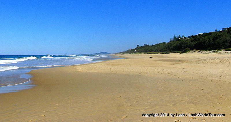 Sunshine Beach near Noosa
