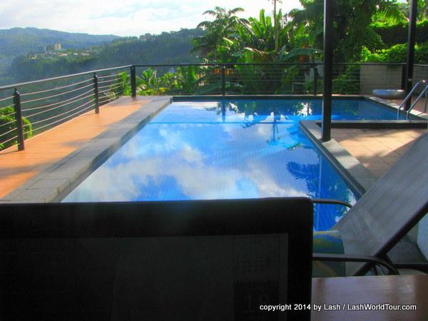 pool deck - Suva Fiji