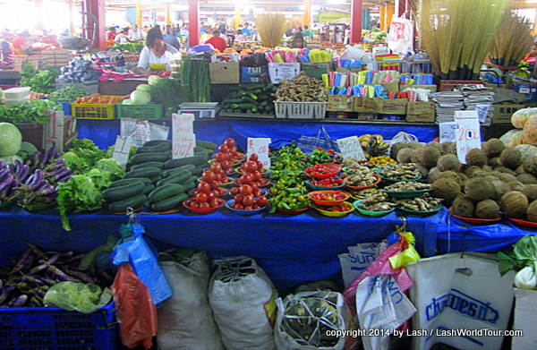 produce at Suva Market