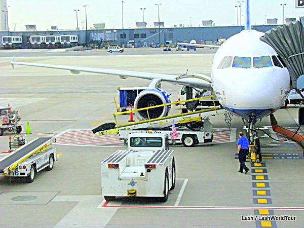 Bali arrivals procedures include preparing planes
