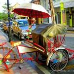 Rickshaw in Penang - Malaysia