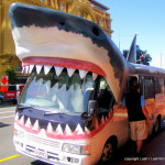 Shark Bus in Auckland New Zealand
