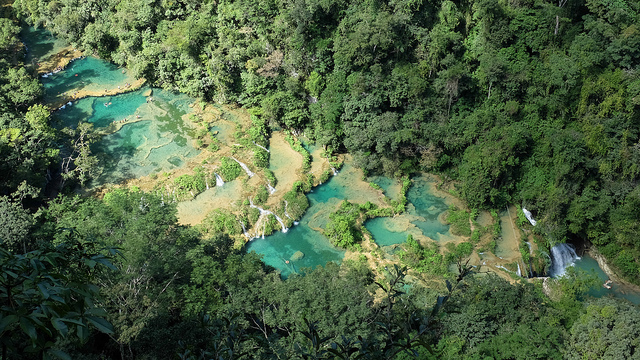Semuc Champey - photo by Christopher Crouzet on Flickr CC