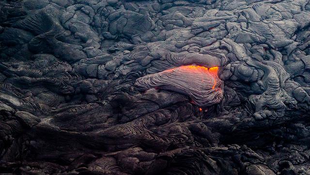 molten  lava - photo by Sathish J on Flickr CC