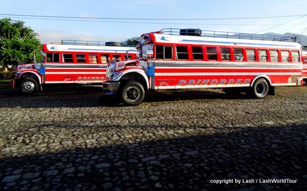 Guatemala public buses