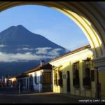 Volcan Agua from Antigua - Guatemala