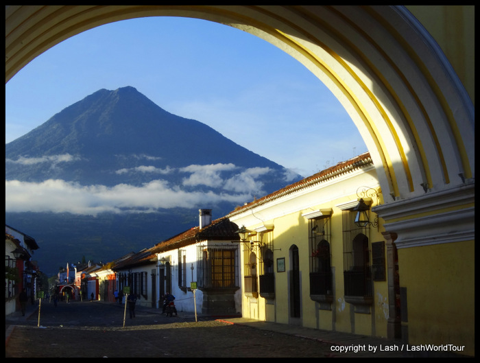 Volcan Agua from Antigua - Guatemala