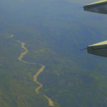first impressions of Guatemala from flight