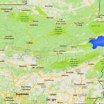 Google map of Guatemala
