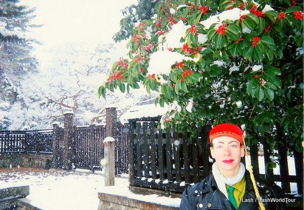 LashWorldTour in Kyoto at Christmas