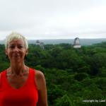 Lash at Temple 4 - Tikal Mayan Ruins - Gautemala