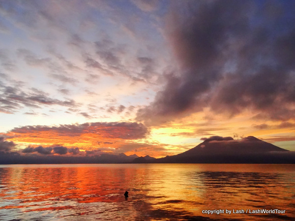 Sunrise at Lake Atitlan - Guatemala