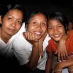 Portrait of Balinese girls