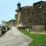 El Morro Walkway circles the base of El Morro Fort in San Juan - Puerto Rico