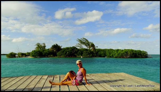 LashWorldTour at the Split - Caye Caulker - Belize