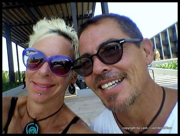 Lash & Alejandro at Hyatt