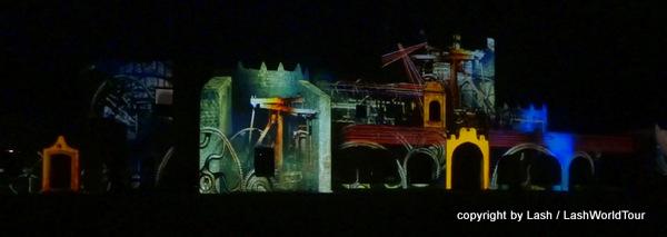 Light Show at San Bernadino Moastery - Valladolid