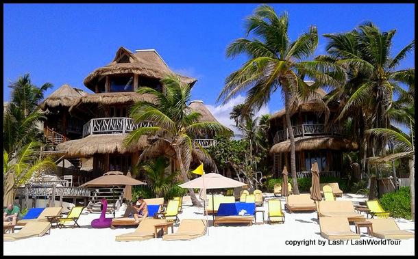 resort at Tulum Beach