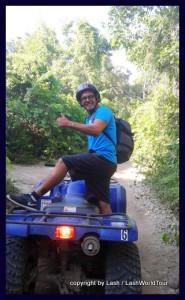 Alejandro's Tour - jungle, centoes, ATV, zipline