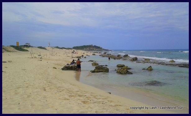 east coast of Cozumel beach