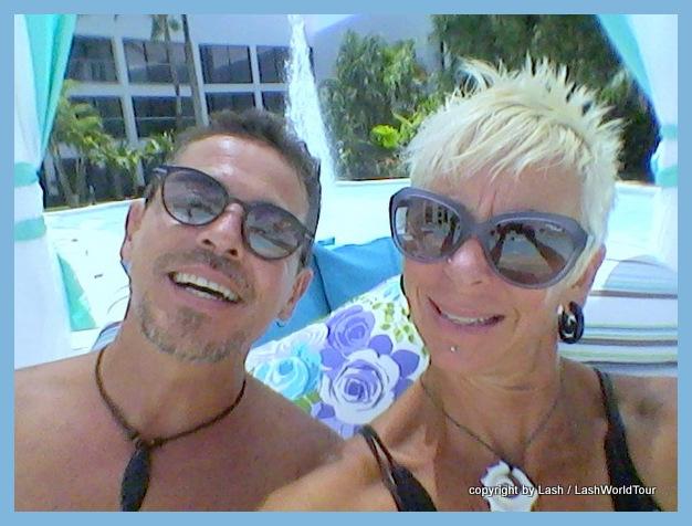 Lash & Alejandro at Grand Oasis Resort