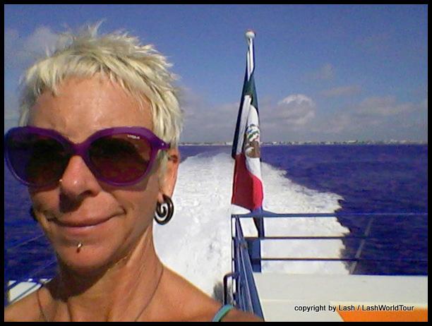 LashWorldTour on ferrry to Cozumel-001