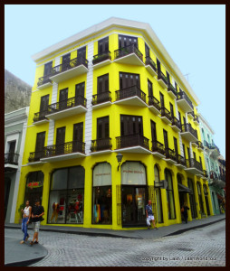 restored building in Old San Juan