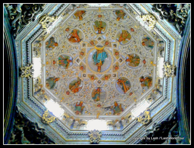 ceiling of Puebla Cathedral - early 1500s