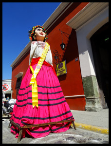 traditional statue is one of my photos of Oaxaca