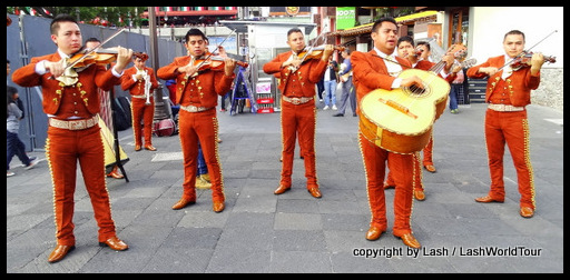 Mariachi band in Cuernavaca
