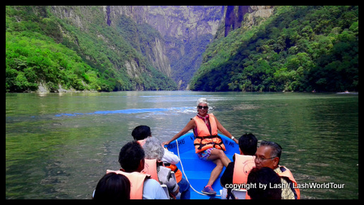 Lash on Canyon Sumidero trip