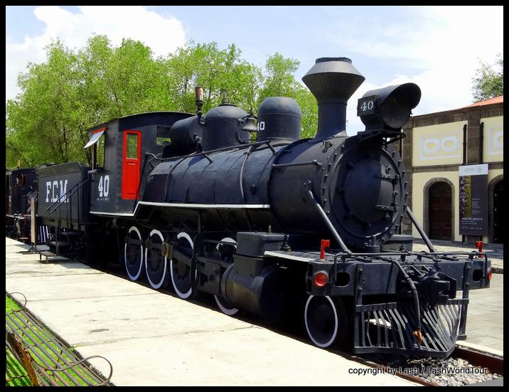 train museum - Puebla