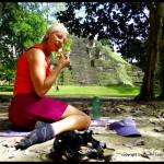 picnic at Tikal Mayan ruins - Guatemala-001