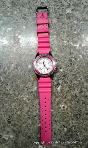 pink watch for Xmas