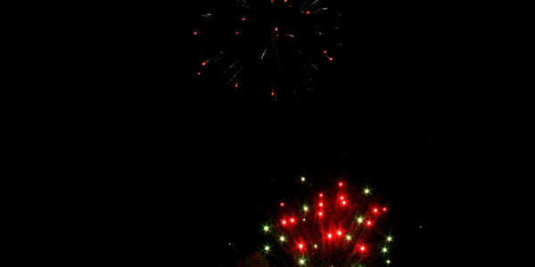 Fireworks in Gulfport 2015