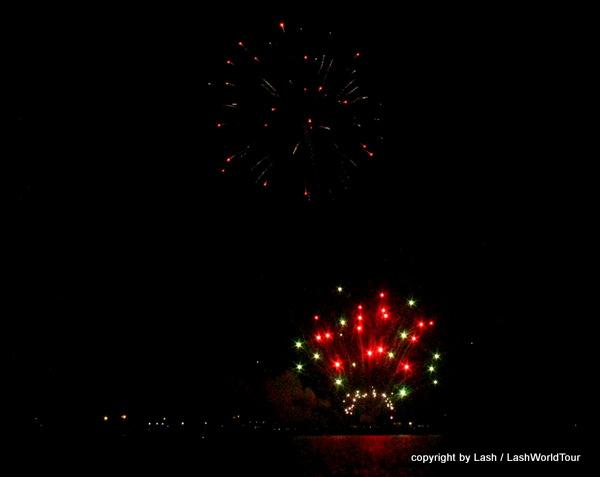 Fireworks in Gulfport 2015