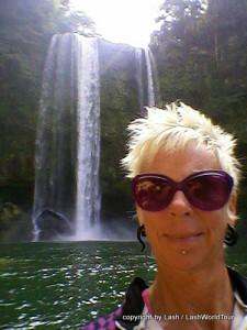 Lash a Misol Ha Cascade - Palenque - Chiapas