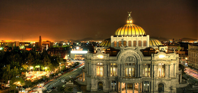 Mexico City - photo by Eneas on Flickr CC