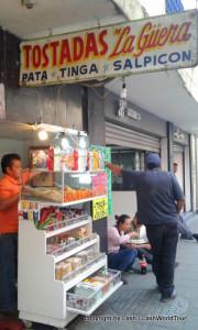street stall in Centro Historico