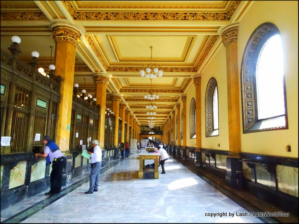 Palacio Correo - Main Post Office in Mexico City Centro Historico