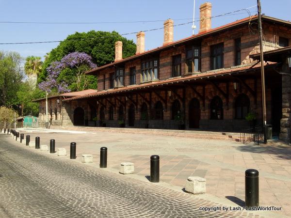 Gueretaro train station