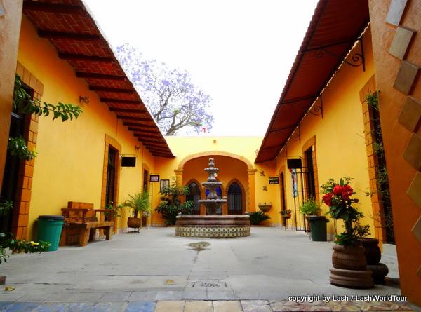 open courtyard in a random Gueretaro building