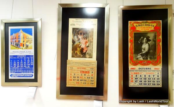 historic Mexican calendars