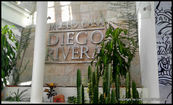 Museum of Diego Rivera - the house where he was born and raised in Guananjuato