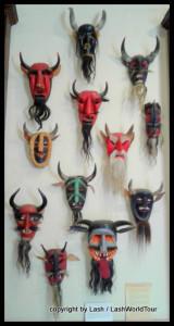 masks at Museum of Masks - SLP