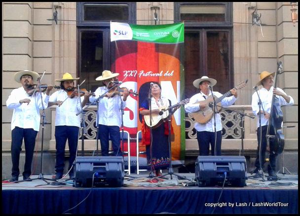 traditional Mexican music during Semana Santa week in San Luis Potosi