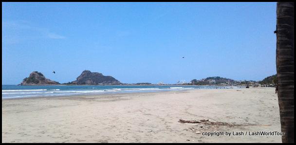 undeveloped beach at Stone Island - Mazatlan
