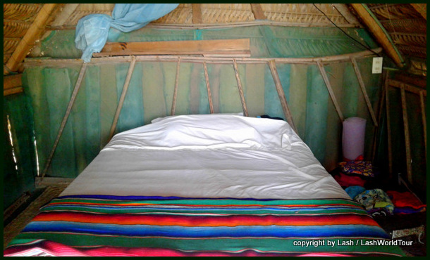 simple interior of my cabana